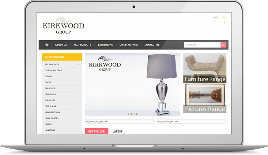 Kirkwood Group - Responsive Website in OpenCart by ePower Web Design