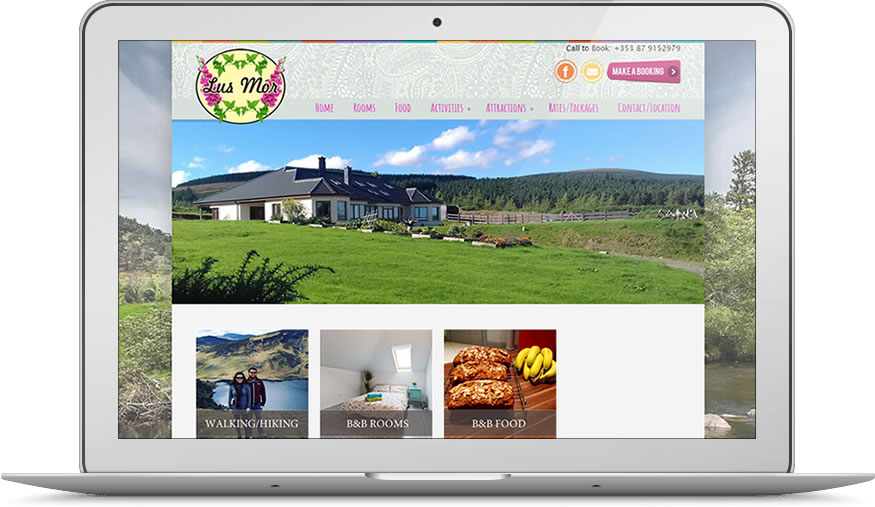Lus Mor Bed and Breakfast Wicklow